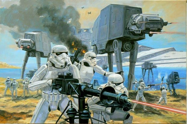 *STORM TROOPERS ~ Awesome Star Wars Geek Art from STAR WARS: VISIONS Book — GeekTyrant