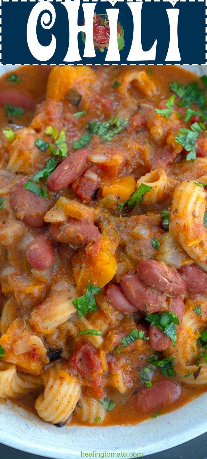 Vegan Chili Recipe Dutch Oven Healing Tomato Recipes In 2020 Vegan Chili Recipe Vegan Chili Tomato Recipes