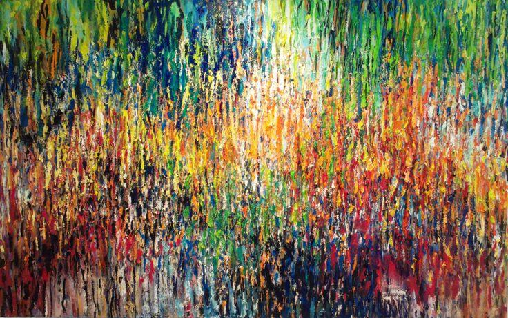 Olieverf 160 x 100. Door: Anne-Marie Kouters