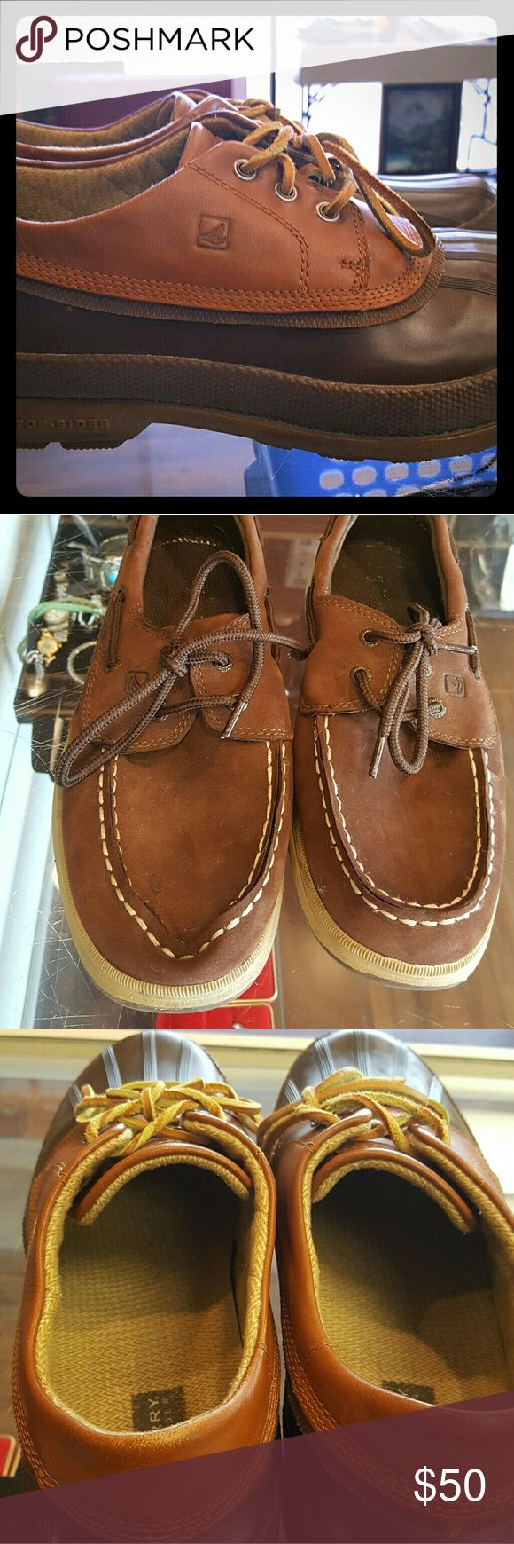 Sperry men's shoes Nice men's Sperry shoes gently used Sperry Top-Sider Shoes Boat Shoes
