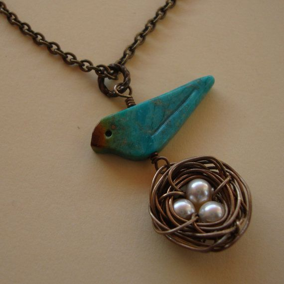 Art Clay Sculpted Bird Nest Ring: 1000+ Ideas About Bird Nest Necklace On Pinterest