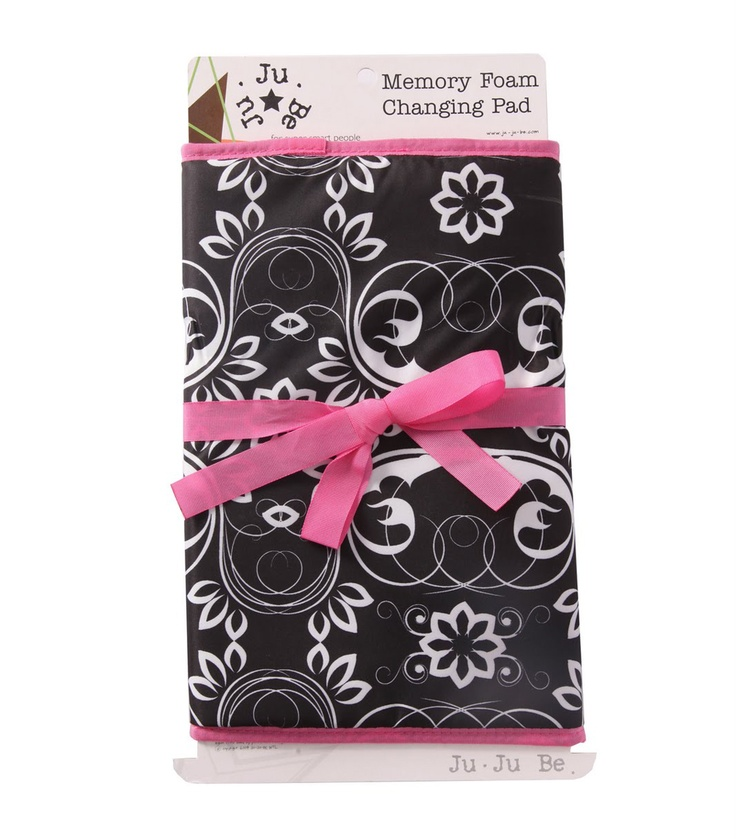 Adorable memory foam changing pad