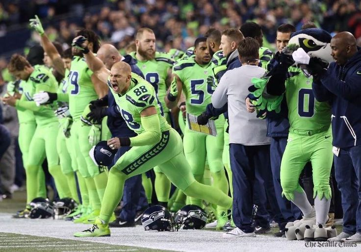 I liked these uniforms but I like the bright green in their colors