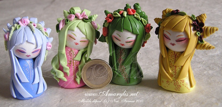 Inspirée des kokeshis traditionnelles, kimmidoll