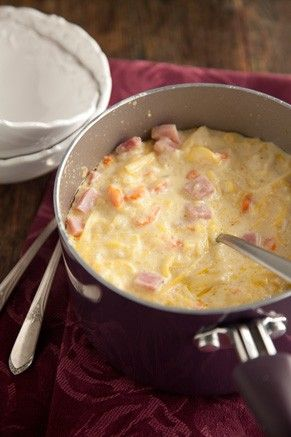 Yellow Squash and Ham Soup