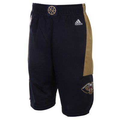 adidas New Orleans Pelicans Preschool Replica Basketball Shorts - Navy Blue
