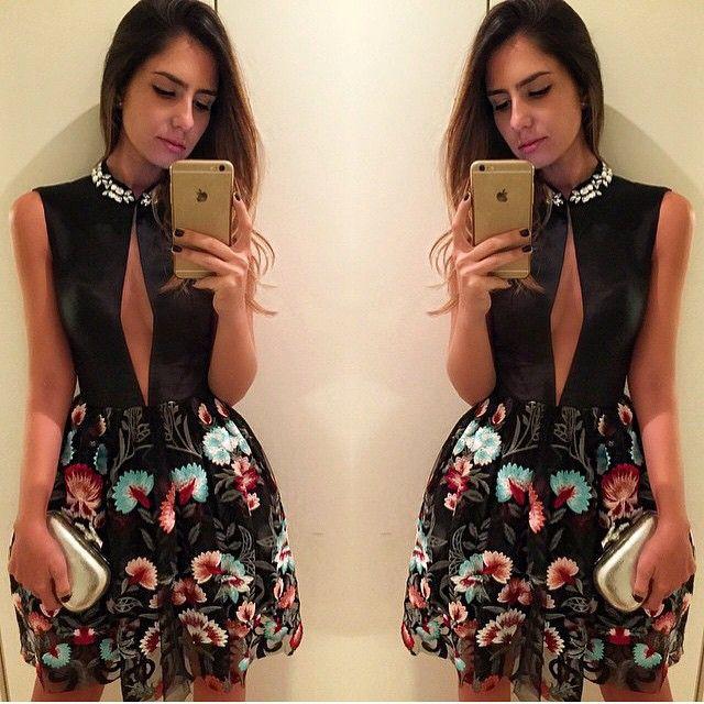 De ontem !!! A bela ❤️@nicolepinheiro com dress bordado #alfreda #alfredaoficial #luxo marcadesejo