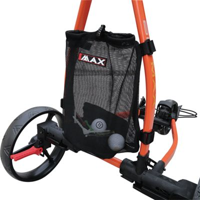 Big Max Mesh Bag For AutoFold & Blade Trolley  This mesh bag is perfect for all the things you need for your golf game. It is very Quick and Easy to fasten this bag to your AutoFold Trolley or Golf Blade Trolley and you're ready to play.  http://www.sunrisegolfcarts.com/Big-Max-p/-.htm