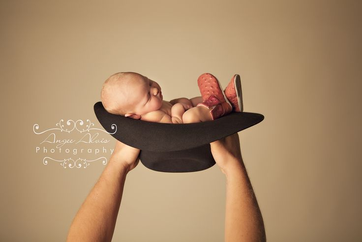 Daddy's little cowgirl.   Photographed by me, Angee Alvis, per special request. I love newborn photography!! (it's my favorite) :)