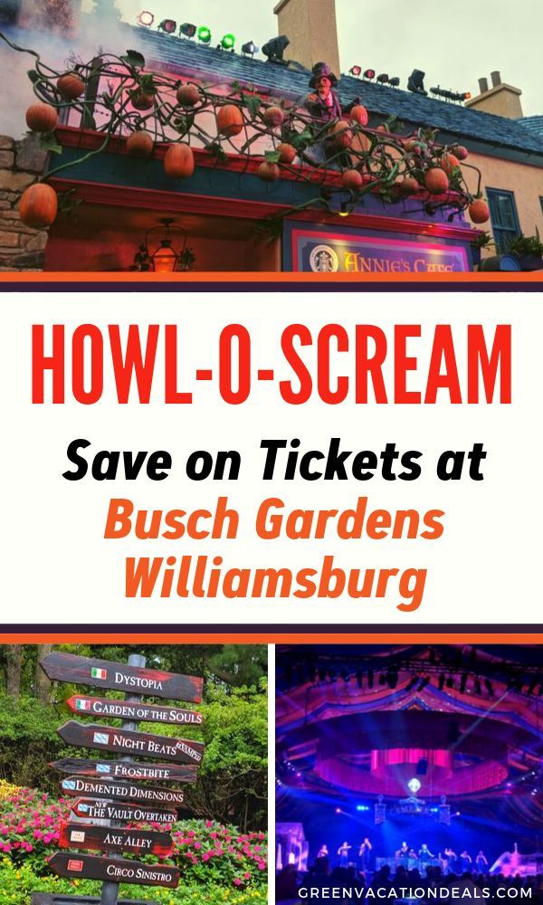 Season Tickets To Busch Gardens Williamsburg