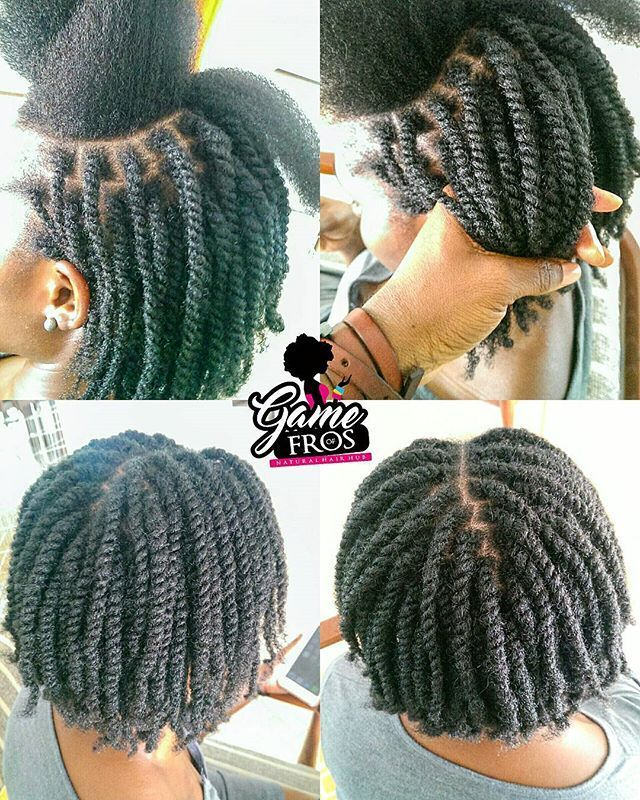 60 Beautiful Two Strand Twists Protective Styles On Natural Hair Coils And Glory Natural Hair Flat Twist Hair Twist Styles Short Natural Hair Styles