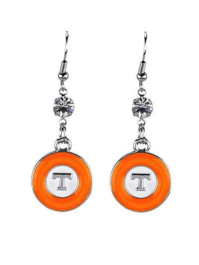 University of Tennessee Pride Earrings – Sophia's Football Bling Boutique