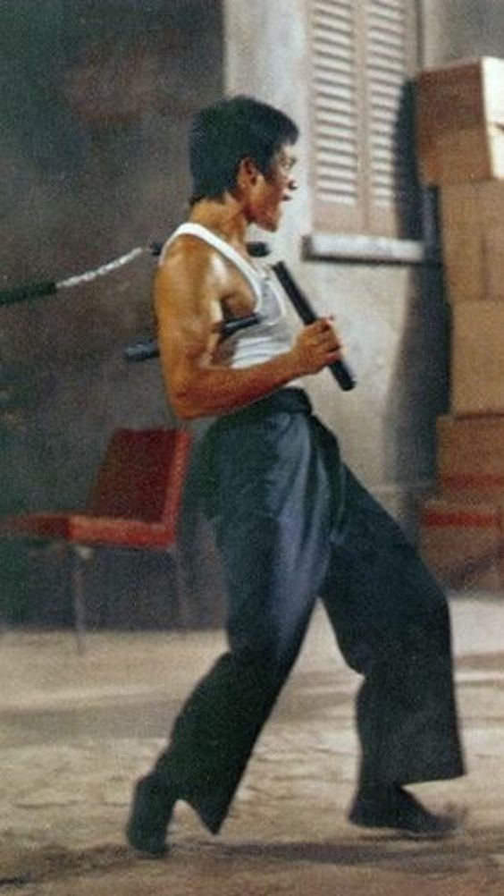 Bruce Lee in Action. :)