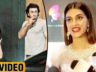 Kriti Sanon Reacts On Ranbir Kapoor And Mahira Khan's SMOKING Pictures