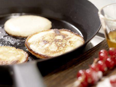 Buttermilch-Vollkorn-Pancakes: Zubereitungsschritt 7
