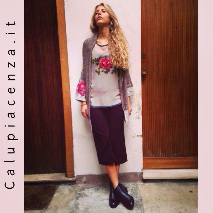 #shoppingonline #calù #calù #calupiacenza #piacenza #madeinitaly #outfitoftheday #autumn #fall #instalove #flowers #pavia #lodi #milano #shoppingpiacenza #shoppingmilan #fashionblogger