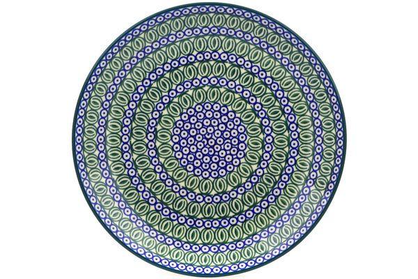 Polish Pottery 10-inch Plate | Boleslawiec Stoneware | Polmedia H8715F