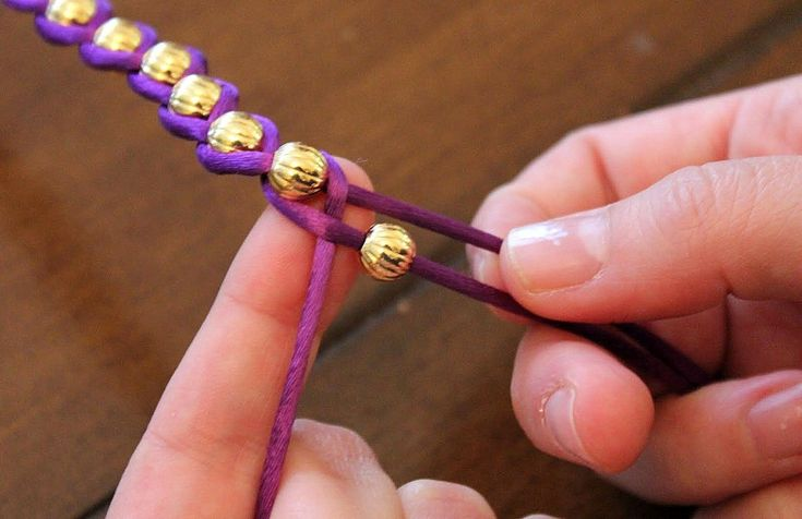 beads and string ... so much we can do with just beads and string!