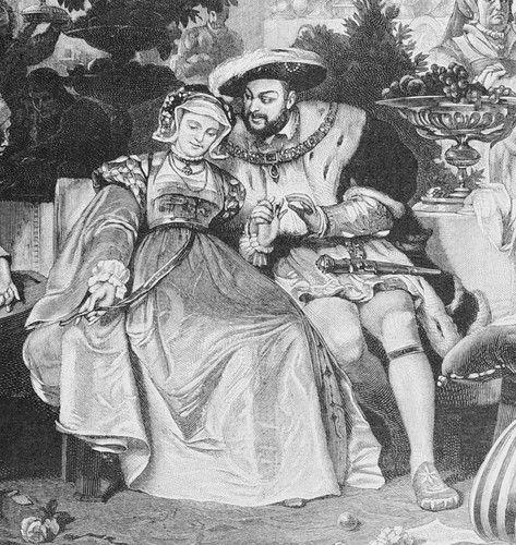 Henry VIII & Anne Boleyn - tudor-history Photo