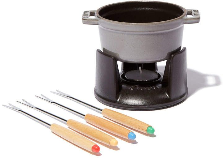 I love this cute Mini Chocolate Fondue Set! It would be great for any occasion especially any future surprise dates I may have up my sleeve hahaha. #datenightideas #entertaining #afflink