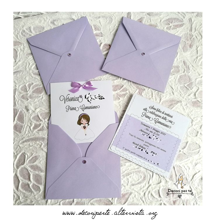 1ST COMMUNION INVITATIONS INVITI PRIMA COMUNIONE