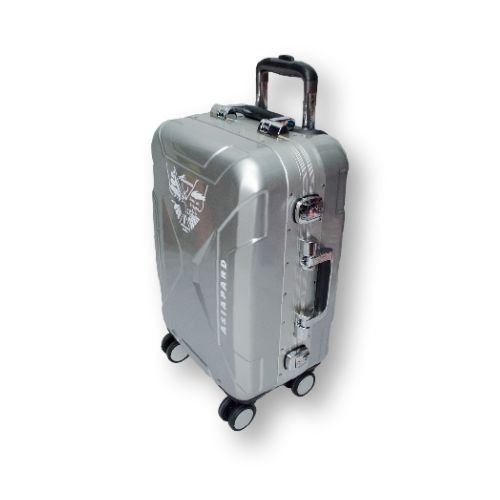 Бардовый, пластиковый чемодан большого размера на 4 колёсах Asiapard 88006 (28 дюймов) #travel #luggage #Laptop