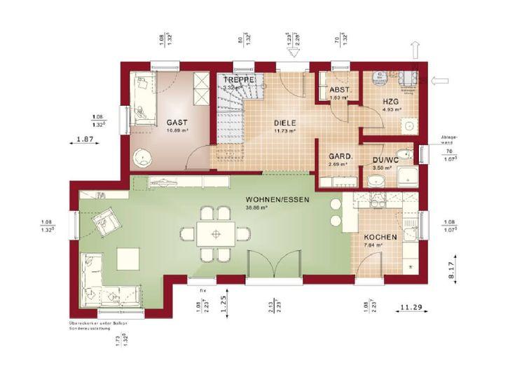 430 Besten Haus Grundriss Bilder Auf Pinterest | Bien Zenker