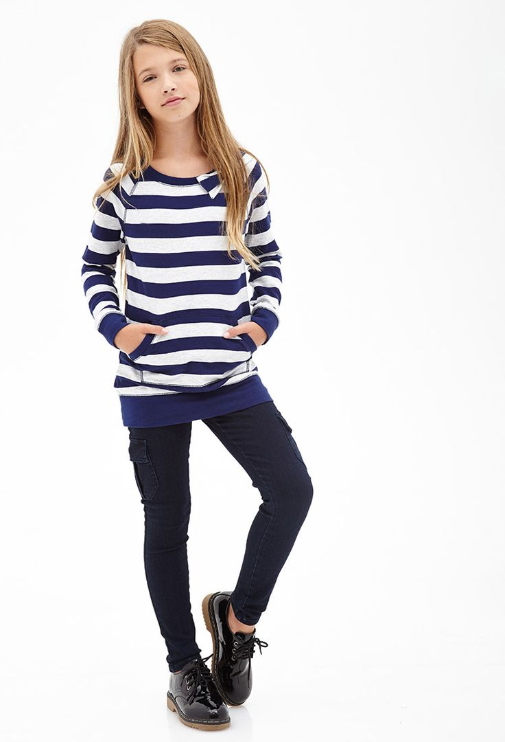 Skinny Cargo Jeans (Kids) #F21Girls | Tween and Teen Girl Fashion | Pinterest | Kid The ou0026#39;jays ...