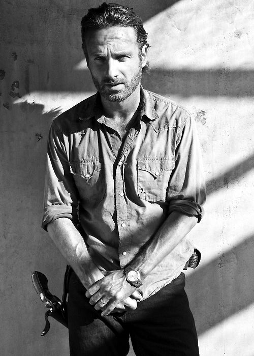 Andrew Lincoln as Rick Grimes// The Walking Dead.   He has done, and is doing an awesome job in his role in the Walking Dead. Especially when he Lost his wife. Great acting, emotionally he was very convincing! If he dies the show will be OVER!!!! for me,