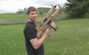 Glock 17 , explosive ammo ....