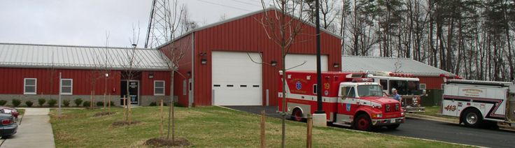 "Project Spotlight: Franklin Fire Station: ""This was a design/build project meeting the program established by the Baltimore County Department of Public Works in conjunction with the Baltimore County Fire Department."""