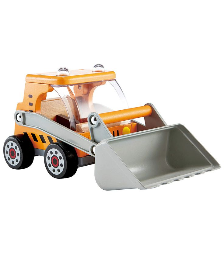 Great Big Digger From Hape from The Wooden Toybox