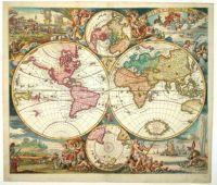 Antique carey 1835 world map mapes antics pinterest online double hemisphere world map large build online jigsaw gumiabroncs Gallery