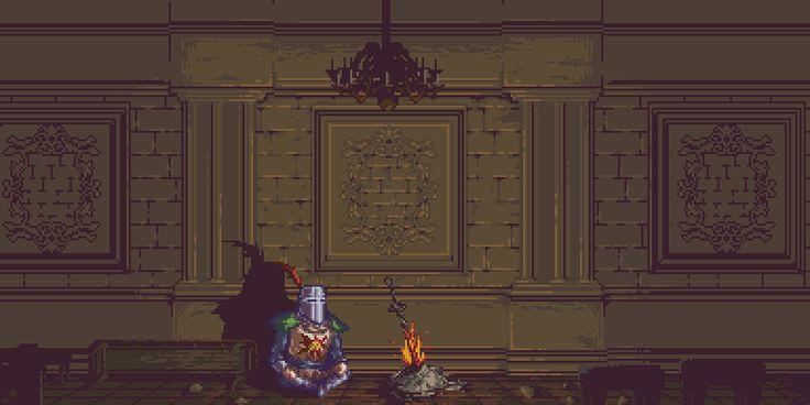 Dark Souls Pixel Artist: zedotagger Source: zedotagger.tumblr.com
