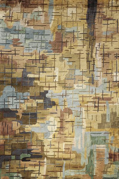 Impressionist Canvas Rug from the Clearance Rugs 1 collection at Modern Area Rugs