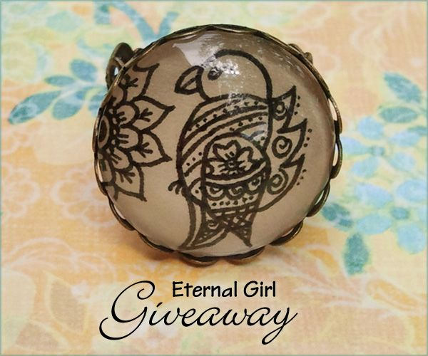 Jewelry #Giveaway to win gift card to Eternal Girl deadline is 11:59pm EST on December 5, 2013.