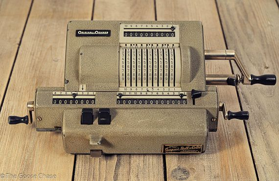Original Odhner Model 239 Mechanical Calculator by TheGooseChase, £97.00