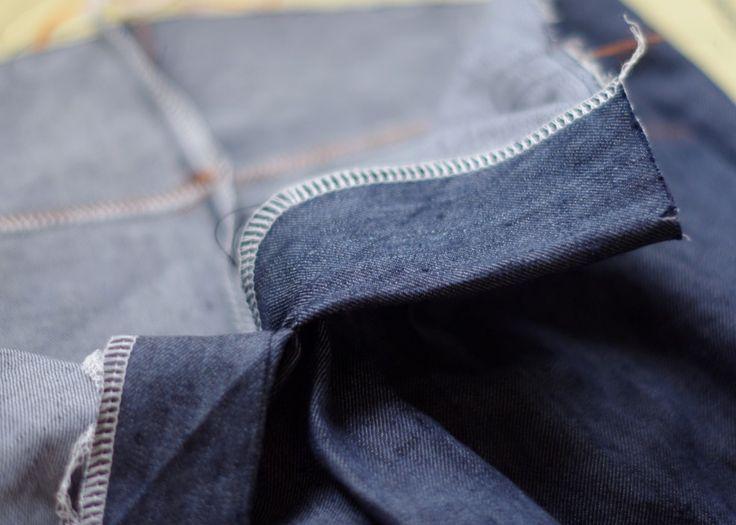 pgdesign.eu: Eine Jeans entsteht Teil 4- Fertigstellen der Jeans