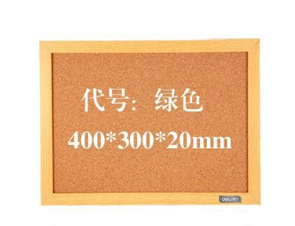 40*30cm bulletin board pin board cork board corcho tablero with hook free shipping
