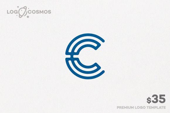 Circular Letter C Logo by Logo Cosmos on @creativemarket