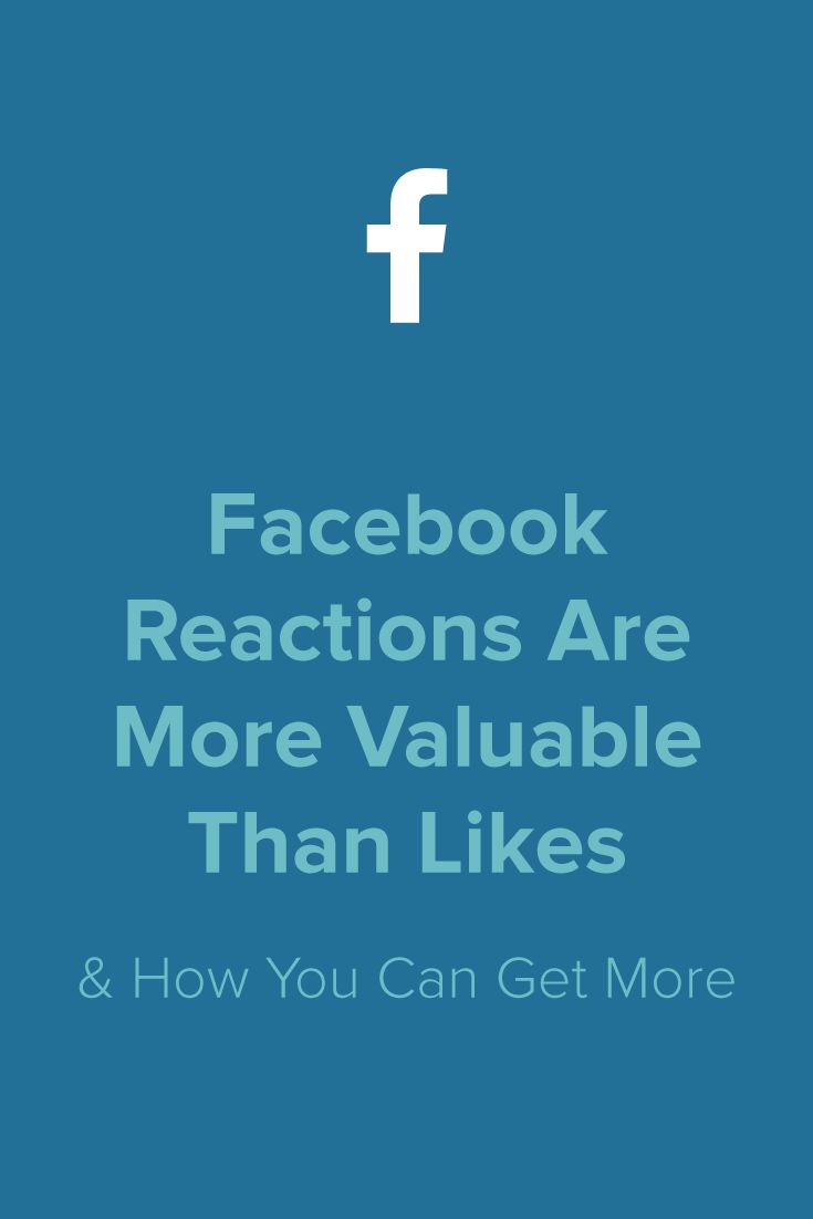 A heart or an angry face is worth more than a thumbs up on your Facebook posts. Here's how brands are getting more reactions out of their readers! - Meet Edgar Blog