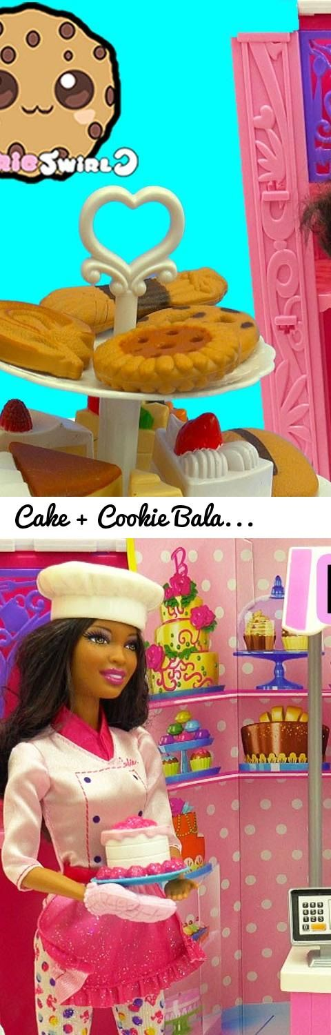 Cake + Cookie Balance Game Challenge - Sweet Chef & Bakery Owner Playset Barbie Dolls Unboxing... Tags: video, review, cookieswirlc, cookie swirl, set, play, playset, juguete, kinder, unboxing, cookie swirl c, food, cooking, baker, baking, bake, maker, cookie swirl c videos, channel, fun, family friendly videos, kid friendly videos, cookieswirlc videos, for children, for kids, cooking videos, barbie, barbie bakery owner, sweet chef, chef barbie, african american, african american barbie…