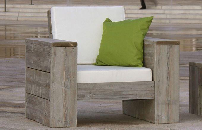 bequemer Lounge Sessel für Terrasse und Garten von WITTEKIND Möbel