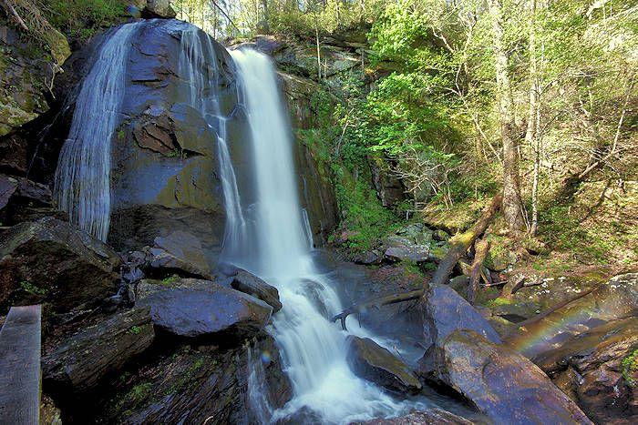 Catawba Falls, NC Waterfall