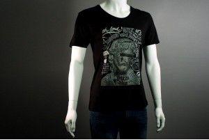 "T-shirt ""Fureur"" Col Médium by Leo Dorfner http://www.you-art-different.com/"