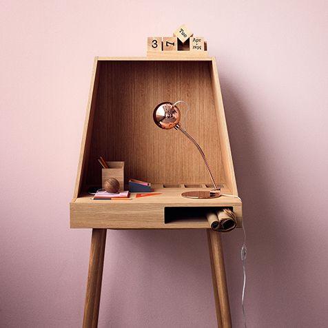 Vilfred by Kristina Kjær - www.kristinakjaer.dk Manufacturer - www.bolia.com #furniture #design #bureau #desk