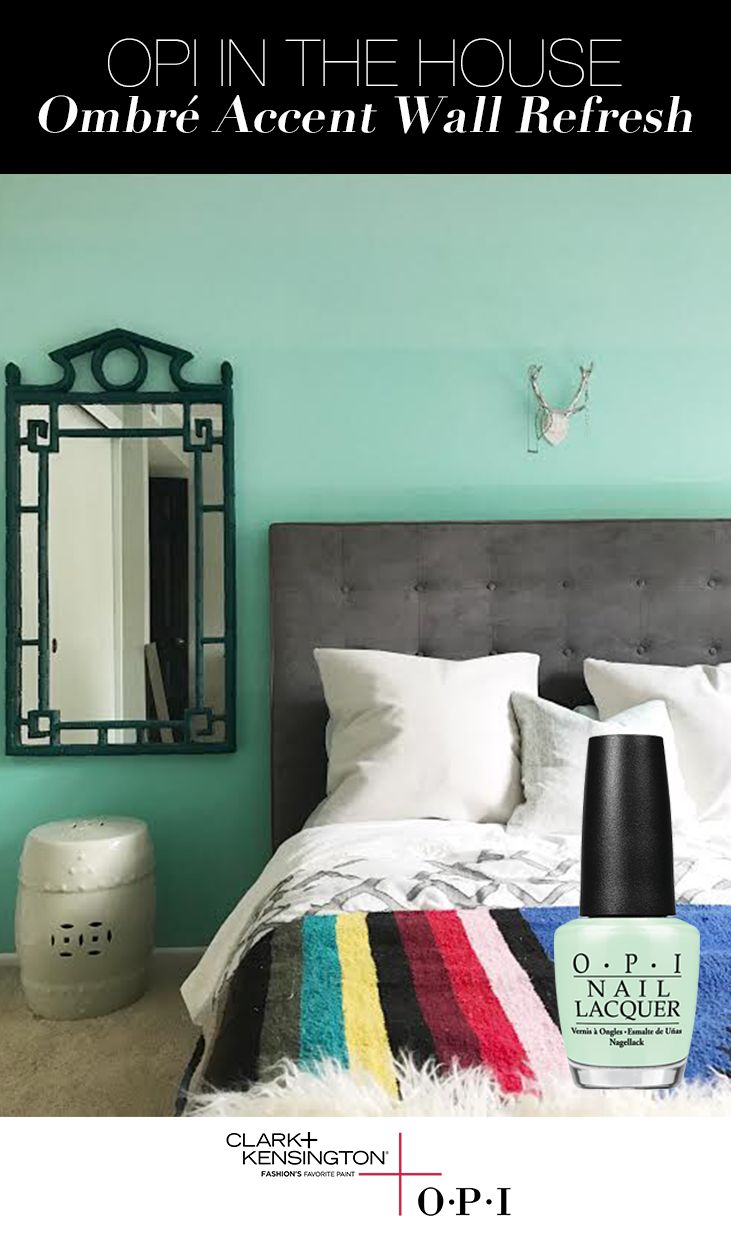 Ace Design Expert Nathan Fischer is showing us how to utilize OPI's That's Hula-rious! in a unique, ombre stripe patten on his daughter's bedroom wall. Check out the OPI blog to see how you can bring the ombre trend to your own home thanks to the OPI Color Palette by Clark+Kensington, available exclusively at Ace Hardware.