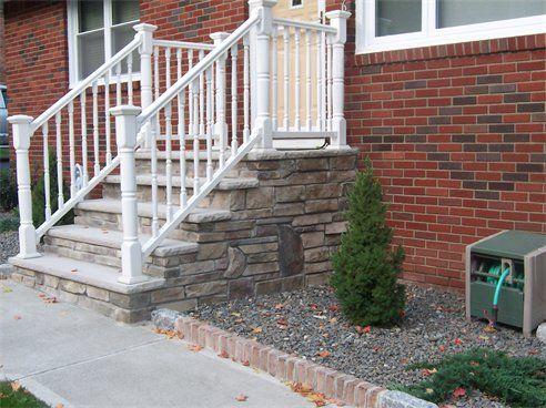 Best V Fini Custom Construction Inc Cultured Stone Steps 400 x 300