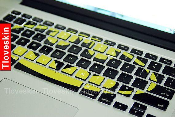 BatmanMacbookdecal Macbook Keyboard Decal Macbook by Tloveskin, $12.99