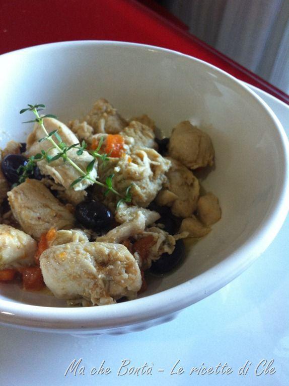 Pollo alla cacciatora in bianco (Braised chicken): Chicken, Braised Chicken, Brai Chicken, Alla Cacciatora, Bianco Braised